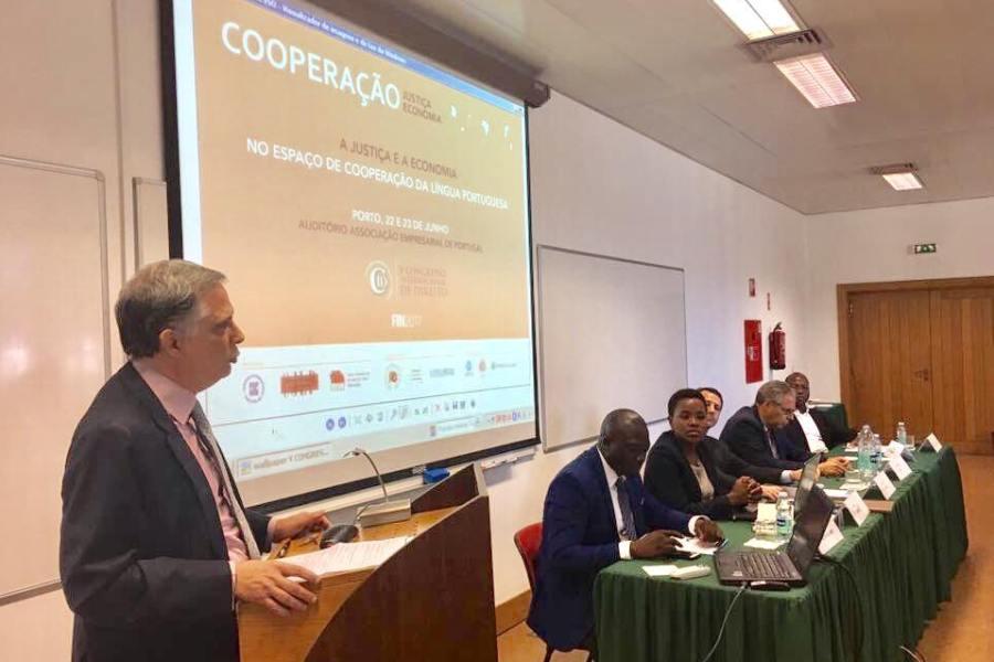 Foto do V Congresso Internacional de Direito