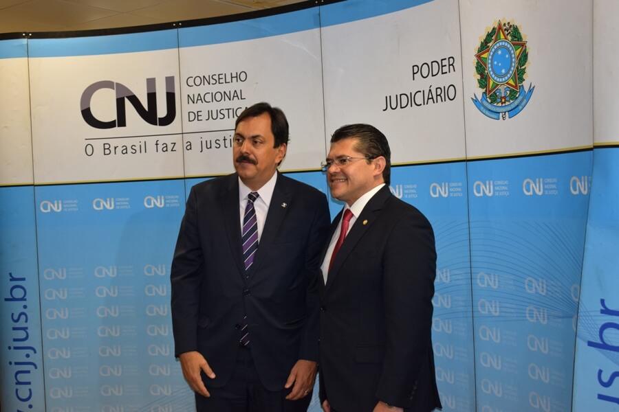 AMB participa da posse do conselheiro Valdetário Monteiro no CNJ