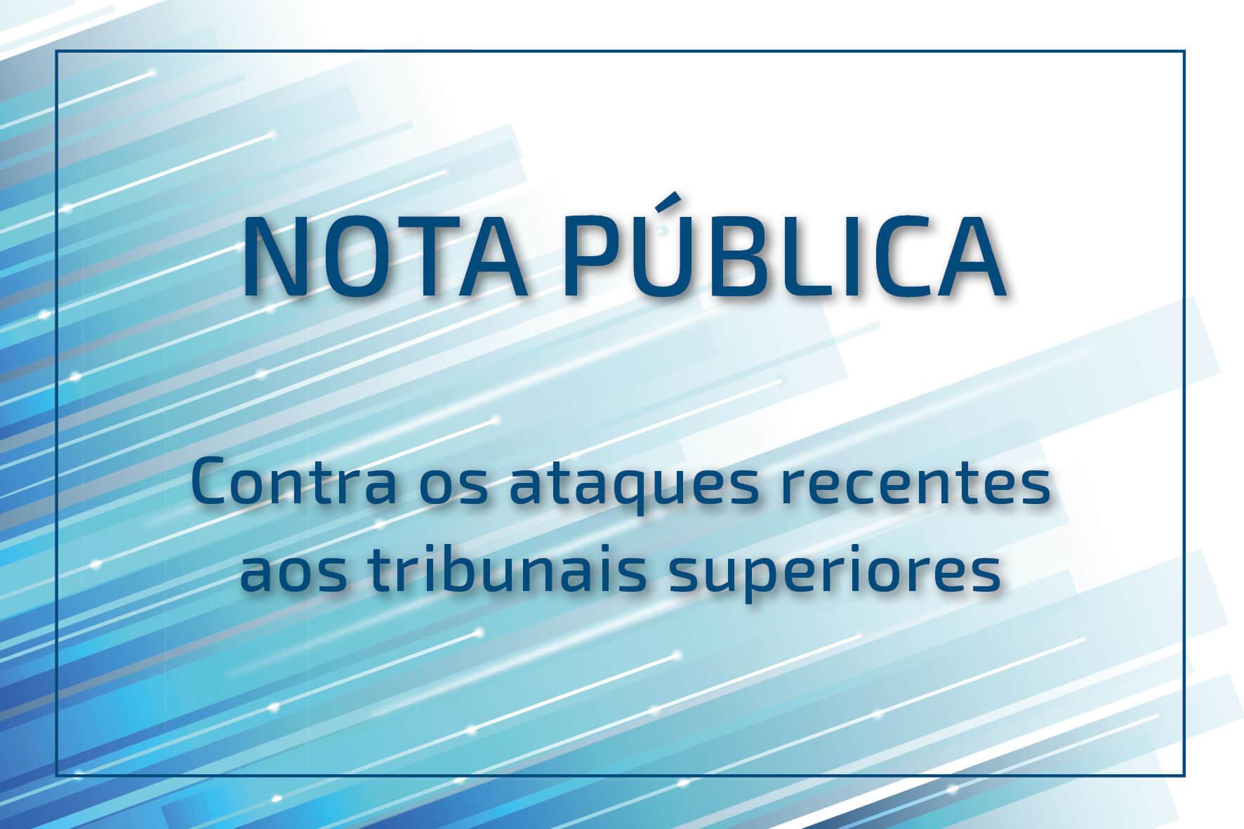Card - nota pública - tribunais superiores