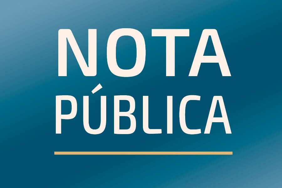 Card nota pública - acusações