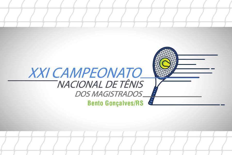 Arte: Campeonato Nacional de Tênis dos Magistrados