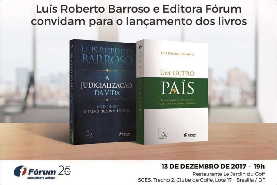 Livros do ministro Luís Roberto Barroso