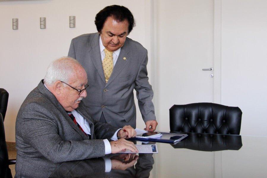 Carlos Alberto Marques Soares e Edmundo Franca